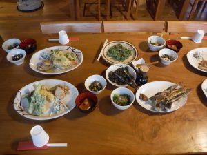 タケノコ尽くしの夕ご飯