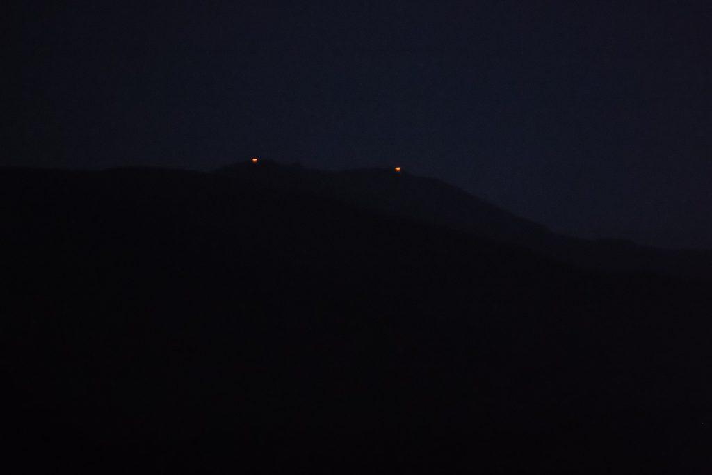 月山本宮・仏生池の柴燈、わかりますか。